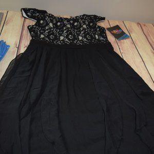 Disney D-signed Coco Inspired Black Dress Girls